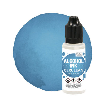 Cerulean Couture Creations Alcohol Ink