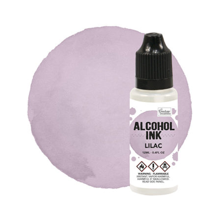 Lilac Couture Creations Alcohol Ink