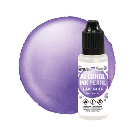 Lavender Couture Creations Alcohol Ink Pearls