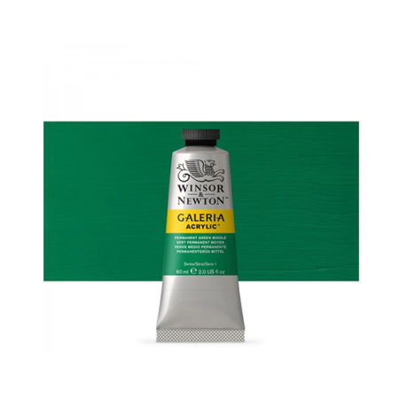 Permanent Green Middle Galeria Acrylic 60ml