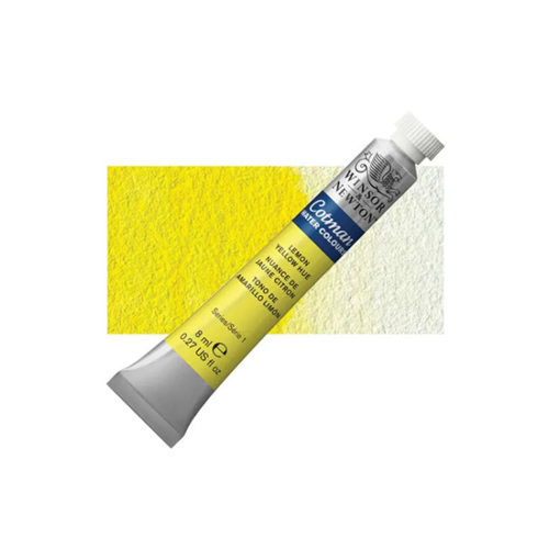 Lemon Yellow Hue Winsor & Newton Cotman Watercolour 8ml Tube