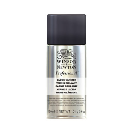 Winsor and Newton Artists Professional Gloss Varnish 150ml Can