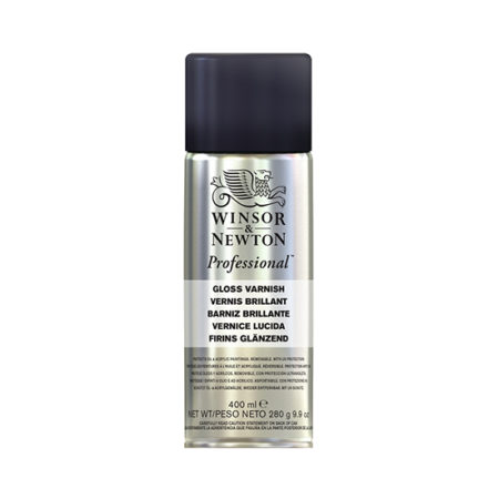 Winsor and Newton Artists Professional Gloss Varnish 400ml Can