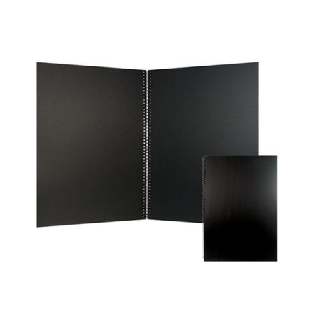 A5 Visual Diary Black Paper 110gsm
