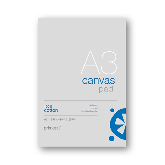 Prime Art Canvas Pad: A4