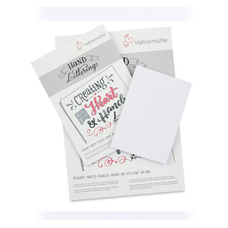 Hahnemühle Hand Lettering Pad 170gsm 25sheets: A4