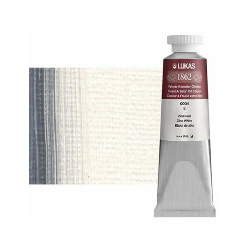 Zinc White Lukas 1862 Professional Oil Paint 37ml