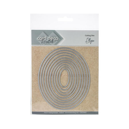 Nesting Ovals Find It Trading Cutting Die Set