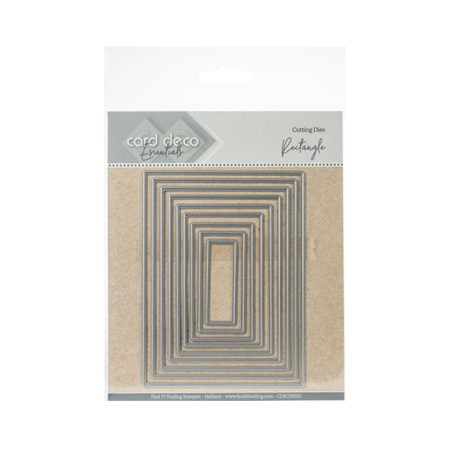 Nesting Rectangles Find It Trading Cutting Die Set