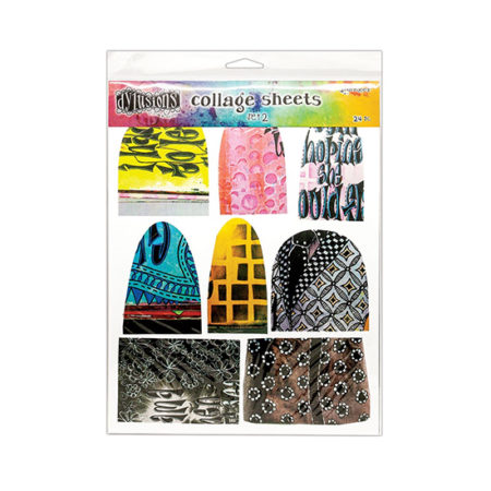 """Dylusions Collage Sheets 8.5"""" x 11"""" 24pk: Set 2"""