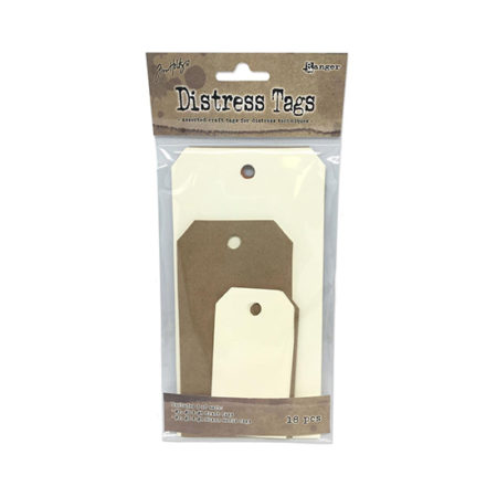 Mixed Media Distress Tags Assorted Pack