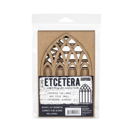 Etcetera Thick Board: Cathedral Windows