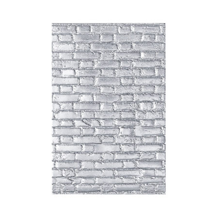 Bricked by Tim Holtz 3D Sizzix Texture Fade