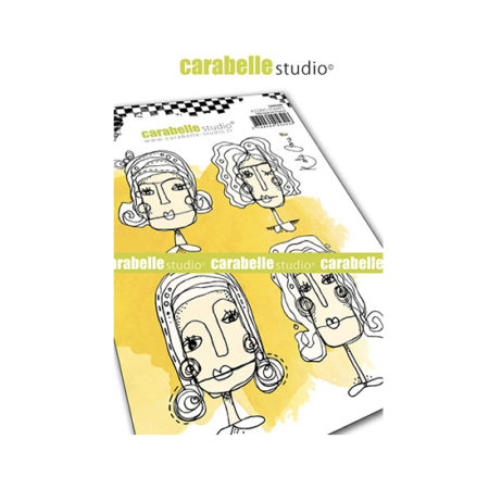 Face It! Carabelle Studio Cling Stamp A6