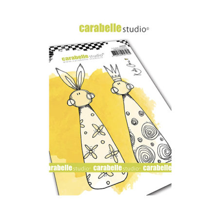Skittle Carabelle Studio Cling Stamp A6