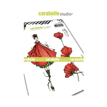 The Fairy Coquelicot Carabelle Studio Cling Stamp A6