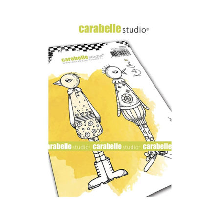 Funky Ducks Carabelle Studio Cling Stamp A6
