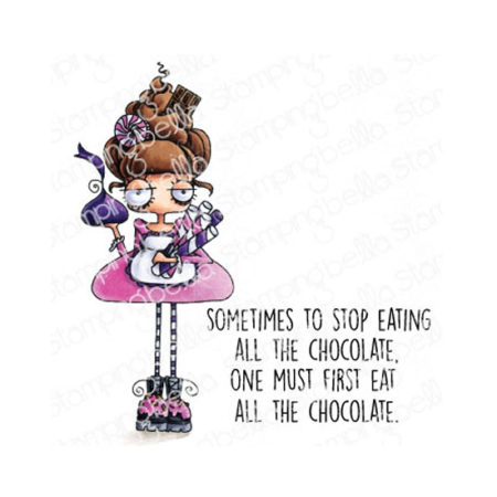 Oddball with a Sweet Tooth Stamping Bella Stamp Set