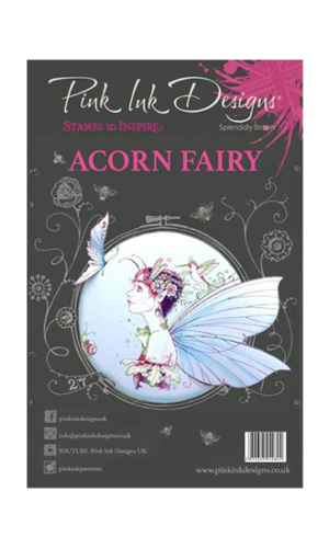 Acorn Fairy Creative Expressions Pink Ink Designs A5 Clear Stamp Set