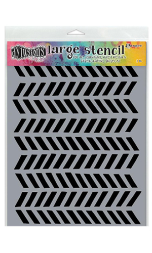9″ x 12″: Tyres Dylusions Stencil