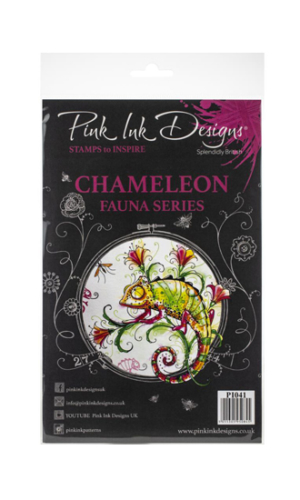 Chameleon Creative Expressions Pink Ink Designs A5 Clear Stamp Set